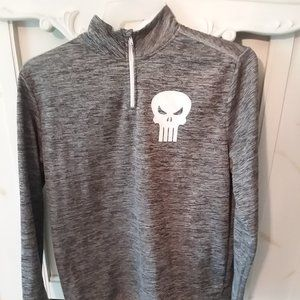 Punisher Zip Up Shirt